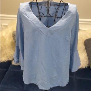 Naif flare sleeve blouse